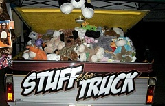 Photo Credit: SUBMITTED PHOTO - The annual Stuff the Truck, which benefits the Michael Grimm Foundation and the Chelsea Hicks Foundation, is planned for Oct. 31.