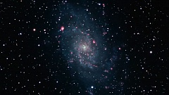 Photo Credit: CONTRIBUTED PHOTO BY NASA - The Pinwheel Galaxy can be found below the Andromeda Galaxy in the fall sky, and will be among the topics discussed at the planetarium presentations next week at Mt. Hood Community College.