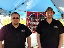 Photo Credit: COURTESY PHOTO - Chris Dillon (left)  and Alex McGaw of Two Kilts Brewery in Sherwood are packing up everything and moving to Hillsboro.