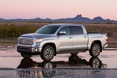 Photo Credit: TOYOTA MOTOR SALES, U.S.A., INC. - The 2014 Toyota Tundra looks especailly rugged with the optional TRD Off-Road package.