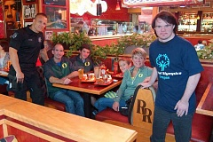 Photo Credit: CLACKAMAS COUNTY SHERIFFS OFFICE - Red Robin has long hosted Tip-A-Cop events in Clackamas County. This photo shows a previous fundraiser.