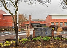Photo Credit: FILE PHOTO - Wilsonville High School would gain square footage and more room for choir and band if voters approve a capital improvement bond measure on the November ballot. The school was originally built for 750 students, with additions bringing enrollment capacity to 1,500. Although the drama and music programs have expanded since the school opened in 1995, students are still using the original facilities.