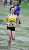 Photo Credit: MATTHEW SHERMAN - Adrienne Hohensee ran a PR at the Sandelie meet last week to help the girls cross-country team to a strong finish.