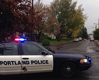 Photo Credit: KOIN 6 NEWS - A man and woman were found dead inside a home in Portland's Hazelwood neighborhood,