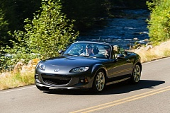 Photo Credit: NORTHWEST AUTOMOTIVE PRESS ASSOCIATION/DOUG BERGER - This is the last year of the current version of the Mazda MX-5 Miata, which offers affordable fun.