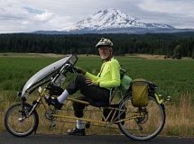 Photo Credit: CONTRIBUTED BY KIRKE JOHNSON FAMILY/KOIN-6 NEWS - Kirke Johnson, 70, advocated for bicycle safety and logged up to 10,000 miles a year on his recumbent bike. He was killed on Thursday when a FedEx truck collided with his bike at Northwest Cornell and Barnes roads.