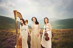 Photo Credit: SUBMITTED PHOTO - Affiniti, an award-winning female trio from Dublin, includes Aisling Ennis on harp, soprano Emer Barry and Mary McCague on violin.