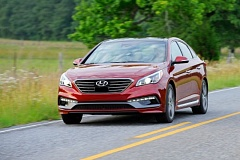 Photo Credit: HYUNDAI MOTOR COMPANY - The 2015 Hyundai Sonata is a handsome, reasonably priced mdsize car.