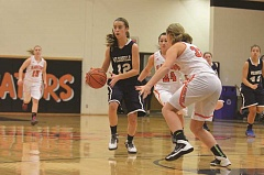 Photo Credit: SPOKESMAN FILE PHOTO - Kristen Burke recieved extended playing time as a freshman last year.