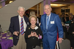 Photo Credit: COURTESY: LEGACY HEALTH - Richard Keller, Laura Meier and Pete Mark (from left to right) at the 2014 Wistar Morris Award ceremony.