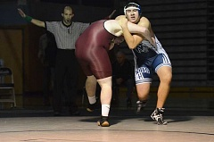 Photo Credit: SPOKESMAN FILE PHOTO - Tony Munoz qualified for state in the 245 pound weight class last year.