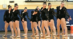 Photo Credit: REVIEW PHOTO: J. BRIAN MONIHAN - Pacers dancers put in the top performance of the season at an event last weekend.