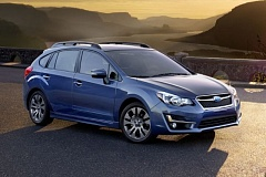 Photo Credit: SUBARU OF AMERICA, INC. - The Sunaru Impreza was slightly restyled and outfitted with more standard equipment for 2015.