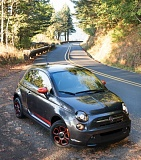 Photo Credit: TRIBUNE PHOTO JOHN M. VINCENT - The all-electric Fiat 500E is fun and green, a rare combo.