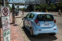 Photo Credit: JOHN M. VINCENT - Electric vehicle advocates want more incentives for cars that fight climate change.