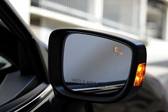 Photo Credit: COURTESY AUTOTRADER.COM - Blind spot monitoring system alter drivers to hidden vehicles.