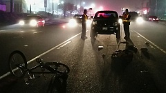 Photo Credit: PHOTO COURTESY: OREGON STATE POLICE - Troopers responded to a vehicle vs. bicycle crash on McLoughlin Boulevard on Monday evening.