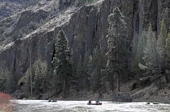 Photo Credit: LON AUSTIN - The proposed bikeway and byway would follow the scenic Crooked River up toward Bowman Dam.