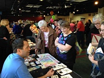 Photo Credit: SUBMITTED PHOTOS - Clackamas County Art Alliances Art Extravaganza offers beginning and experienced artists the opportunity to learn about new products, techniques and even try out a different art form. It will be held March 11 at Providence Willamette Falls Community Center.