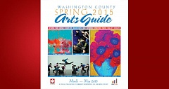 (Image is Clickable Link) Washington County Arts Guide Spring 2015