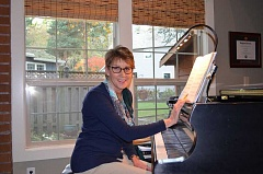 Photo Credit: SUBMITTED PHOTO - Linda Woody is not only the artistic director of the Going  Boldly concert on March 15. She is contributing two of her own musical compositions to the program.