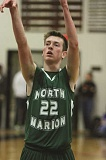 PHIL HAWKINS - 2015 Oregon West Second Team wing Tanner Scanlan of North Marion.