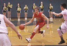 PHIL HAWKINS - Tri-River First Team guard Brett Traeger of Kennedy.
