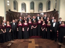 SUBMITTED PHOTO - The Marylhurst Chamber Choir made school history with their appearance at Carnegie Hall on Feb. 15. Their tour to Boston and New York City was a big success.