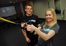 REVIEW, TIDINGS PHOTO: VERN UYETAKE - Eric and Sara Wold might be the fittest couple you have ever met. They want you to be fit, too, at New Summit Fitness in Lake Oswego.