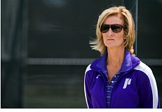 COURTESY OF UNIVERSITY OF PORTLAND - Susie Campbell-Gross, women's tennis coach, takes her Portland Pilots into the West Coast Conference semifinals on Friday, looking for the program's first-ever berth in the league finals.