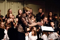 COURTESY PHOTO - The Hillsboro Community Youth Choir was founded 10 years ago and is celebrating the milestone with a special concert and gala. Cindy Uecker is the group's artistic director.