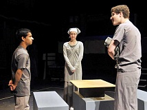 SETH GORDON - C.S. Lewis Academy students will explore when they present a stage adaptation of Lois Lowry's 1993 novel 'The Giver' the next two weekends at George Fox University's Wood-Mar Theater.
