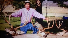 SUBMITTED PHOTO - Milt Stafford with hunting trophies.