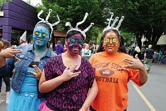 COURTESY OF UFO FESTIVAL - The 16th annual UFO Festival in McMinnville, set for May 14-17, attracts all kinds, presumably from Earth.