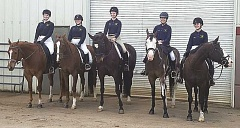 SUBMITTED PHOTO - The Canby OHSET team will get a chance to compete at the state competition this year. After initially being cancelled due to an outbreak of equine herpes, the state competition was rescheduled for June 24-27 at the Deschutes County Fairgrounds in Redmond.