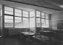 PHOTO COURTESY OF BOWMAN MUSEUM - The following photo was taken in an empty Ochoco Elementary School classroom in 1947. The school had been open just two years when the picture was taken.