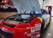 COURTESY WORLD OF SPEED - The engine of Jeff Gordon's 1995 NACAR Monte Carlo will be fired up on the Fourth of July at the World of Speed.