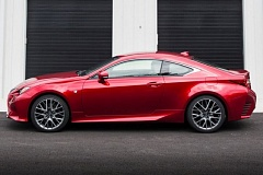 TOYOTA MOTOR SALES, USA, INC. - The exterior styling of the 2015 Lexus RC350 F Sport attracts a lot of attention, for all the right reasons.