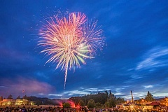 NEWS-TIMES FILE PHOTOPHOTO: CHASE ALLGOOD - The fireworks show presented in Forest Grove by the Western Washington County Firefighters Association is always popular.