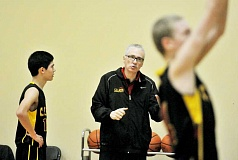 SETH GORDON - Master of many sports - Vince Swagerty coached a number of teams during his time at C.S. Lewis Academy.