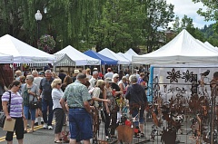 CONTRIBUTED PHOTO: CITY OF GRESHAM - Browsing the various booths at the Gresham Arts Festival is a favorite activity for attendees.