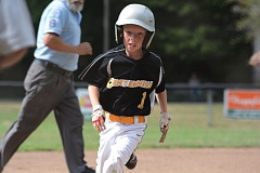 THE OUTLOOK: DAVID BALL - Centennials Talan Fery rounds third base after hitting a single to lead off the fourth inning.