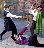 SUBMITTED PHOTO - Masque Alfresco will present Venetian Twins, family-friendly slapstick comedy, on Friday, Saturday and  Sunday evenings at 7 p.m. through Aug. 9 at George Rogers Park.
