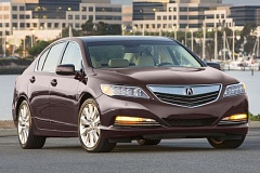 AMERCAN HONDA MOTORS - From the outside, you'd never know Acura's sportiest RLX is a hybrid.