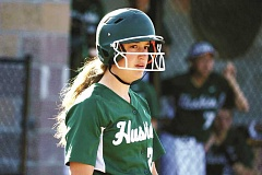JO WHEAT - After spending time playing for the North Marion Huskies last season, St. Pauls Elizabeth Brentano (above) and Logan Robinson (below) will be among the first members of the newly restored St. Paul softball team this spring.