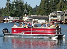SUBMITTED PHOTO - Now in its fourth year, the Lake Oswego Preservation Societys Classic Houses and History Boat Tour on Oswego Lake will take place Sept. 12.