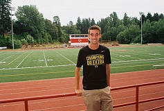 JOHN DENNY - Trevor Ferguson, a 2010 graduate of Oregon City High School who starred for the Pioneers in both basketball and track and field, had several offers for college scholarships out of high school. But he turned them down to walk on at the University of Oregon, where he played a role in four Pac 12 team championships and two NCAA national team championships.