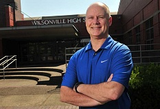 SPOKESMAN PHTO: VERN UYETAKE - Dan Schumaker feels ready for his first year as principal at Wilsonville High School.