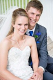 SUBMITTED - Jamie Thwing and Amy Walters were married last month.