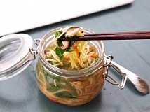 SUBMITTED PHOTO  - DIY Instant Noodles are a welcome break from the old standard peanut butter sandwich.